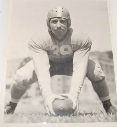 Tennessee Vols football player in 1939