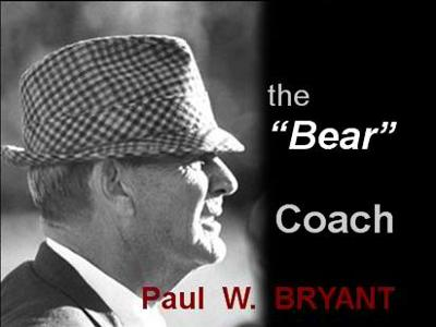 The Bear Bryant