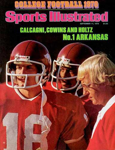 College Football 1978 SI Cover