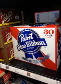 30 pack of PBR