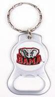 Alabama Crimson Tide Bottle Opener Keychains