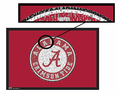 Alabama Crimson Tide Fight Song Poster