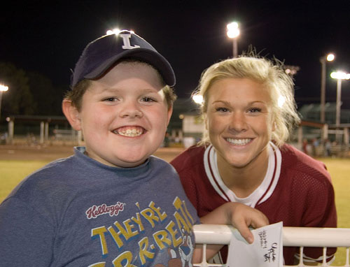 Alabama Crimson Tide Softball Player