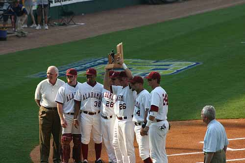 Alabama Baseball Championship Trophy