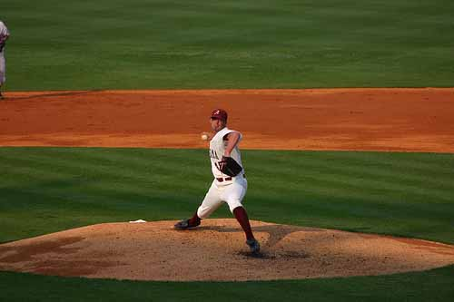 Alabama Crimson Tide Baseball Pitcher