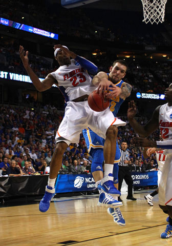 Alex Tyus of the Florida Gators