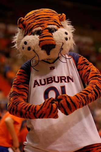 Auburn Tiger mascot 'Aubie'