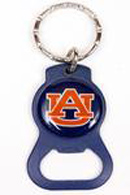 Auburn Tigers Bottle Opener Keychains