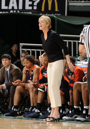 Auburn University Head Coach Nell Fortner.