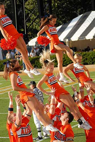 Auburn Tigers Cheerleaders