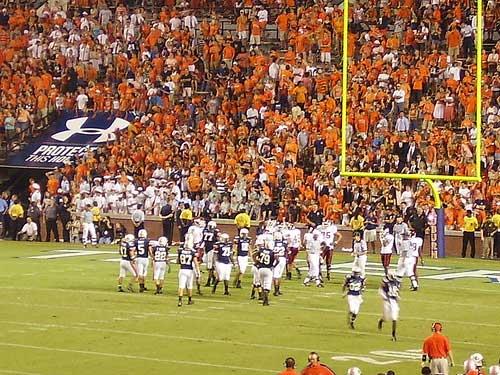 Auburn Tigers Endzone