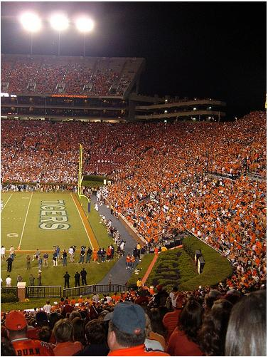 Night Game at Jordan-Hare Stadium