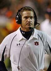 Auburn's Gene Chizik