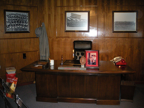 Bear Bryant's Office