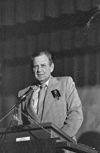 Bear Bryant Speaking in 1975