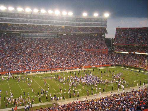 Florida's Ben Hill Griffin Stadium
