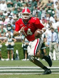 Georgia Bulldog QB David Greene