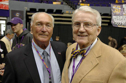 Billy Cannon at 2008 Reunion of 1958 LSU Football Team