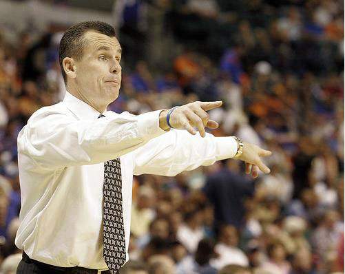 Florida Gators basketball coach Billy Donovan.