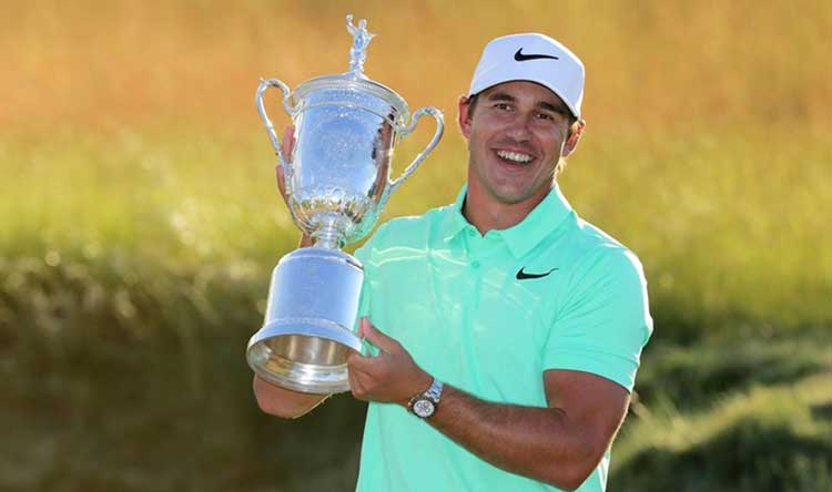 Brooks Koepka closed out his opening Major Championship win