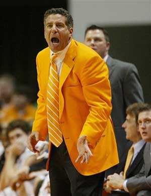 bruce pearl in his famous orange jacket
