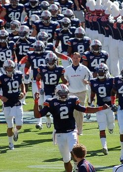 Cam Newton Leads Auburn on the field