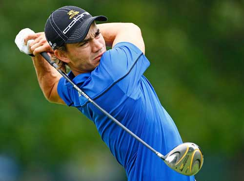Former Gator Camilo Villegas' powerful golf swing