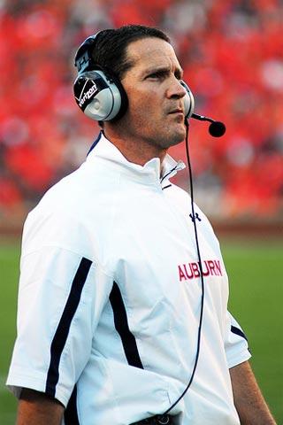 Coach Chizik.