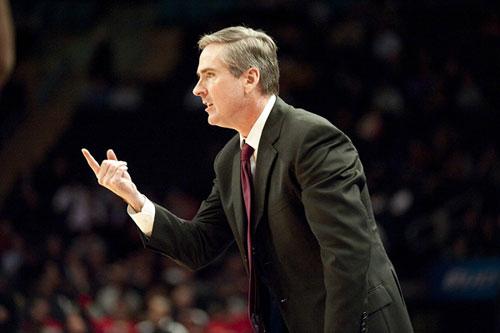 Head Coach Rick Stansbury