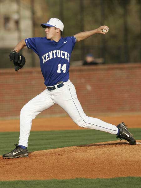 Kentucky Wildcats Baseball Pitcher