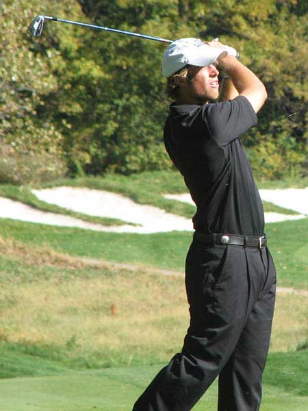 University of Kentucky Golfer's Swing