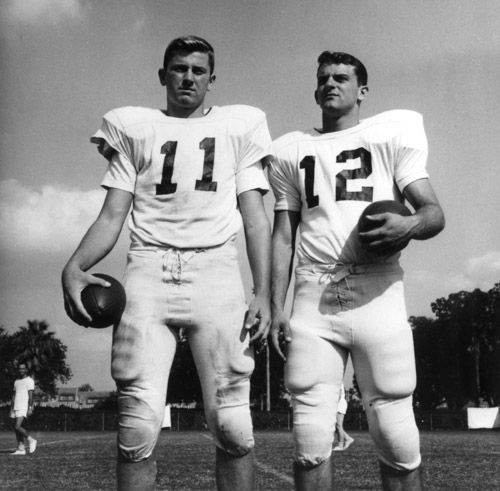 1964 picture of Steve Spurrier with Tommy Shannon