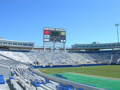 Commonwealth Stadium End Zone
