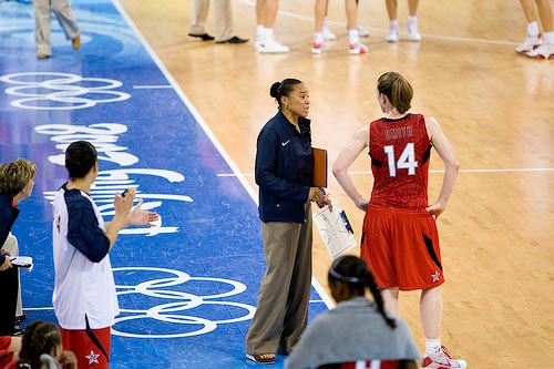 Dawn Staley at Beijing.