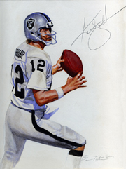 Kenny Stabler Painting