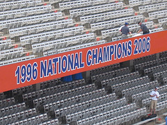 Florida National Championship Sign