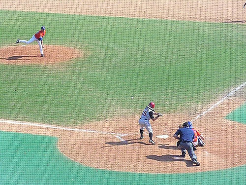 Gator pitcher throws last pitch of game