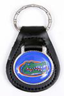 Florida Gators leather keychains