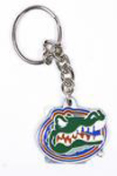 Florida Gators pewter keychains