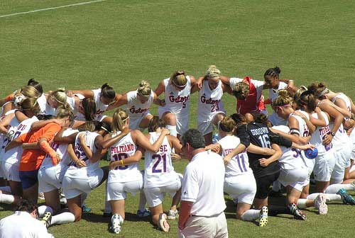 Florida Gators Soccer Prayer