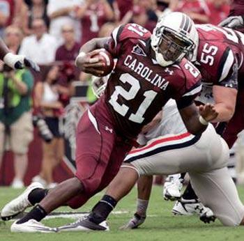 Carolina super freshman Marcus Lattimiore.