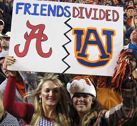 Alabama vs Auburn
