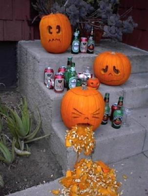 Depressed Pumpkins