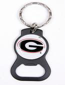Georgia Bulldogs bottle opener keychains