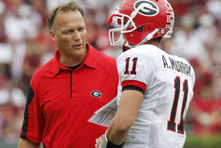 Georgia Bulldogs Coach Mark Richt
