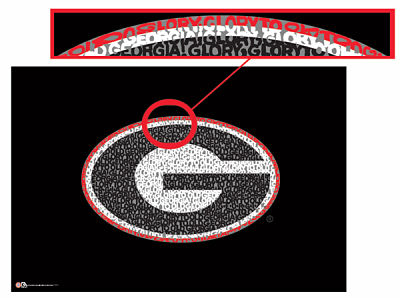 Georgia Bulldogs Fight Song Poster
