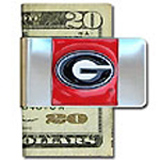 Georgia Bulldogs moneyclip keychains