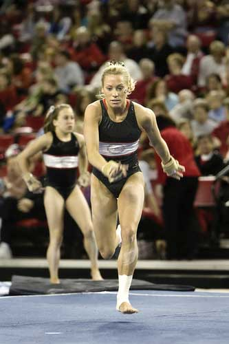 Georgia Bulldog Gymnast Tiffany Tolnay