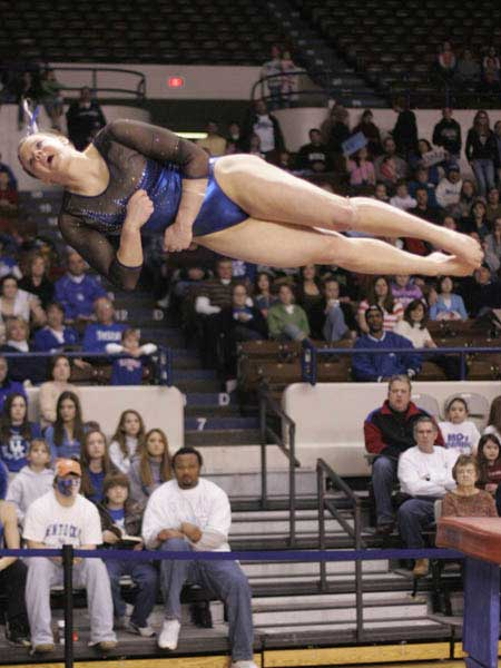 Kentucky gymnastics vault