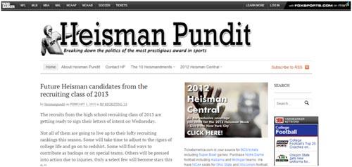 Heisman Pundit
